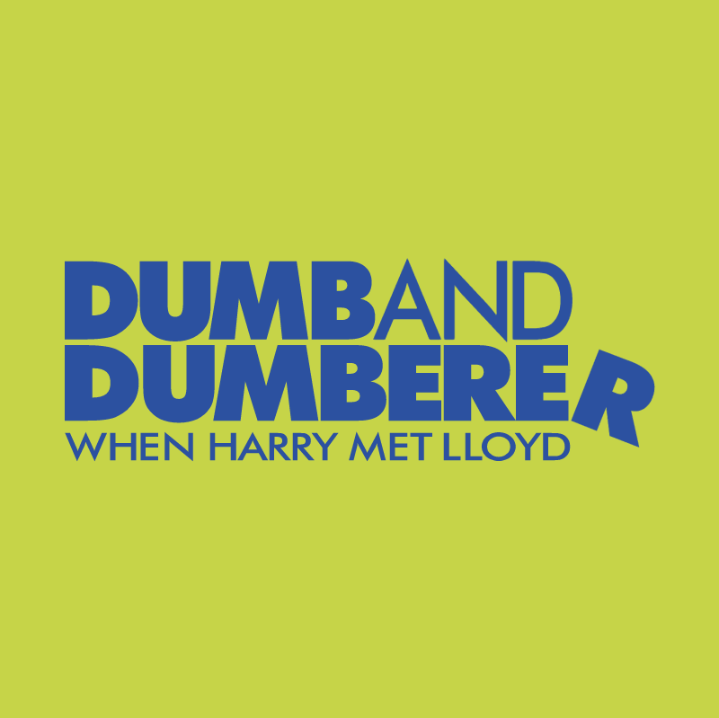 Dumb And Dumberer vector