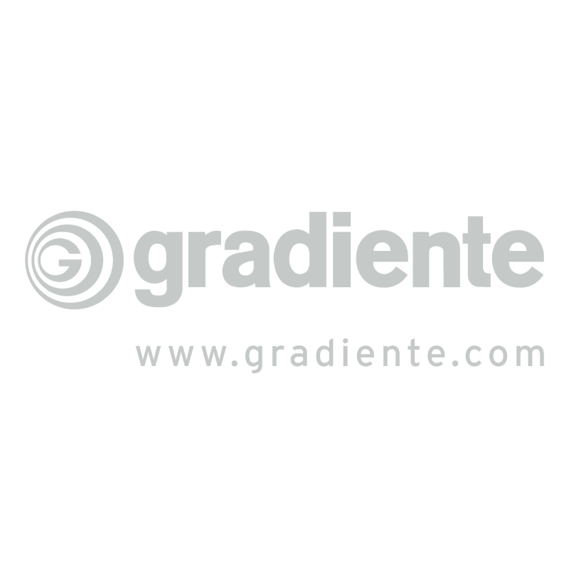 Gradiente vector logo