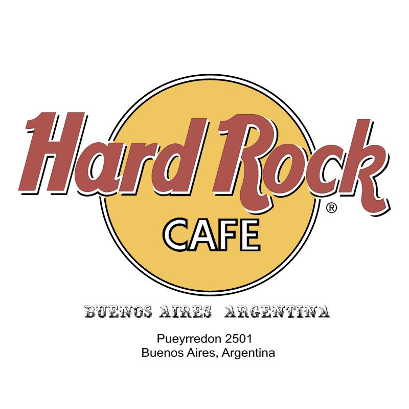 Hard Rock Cafe vector