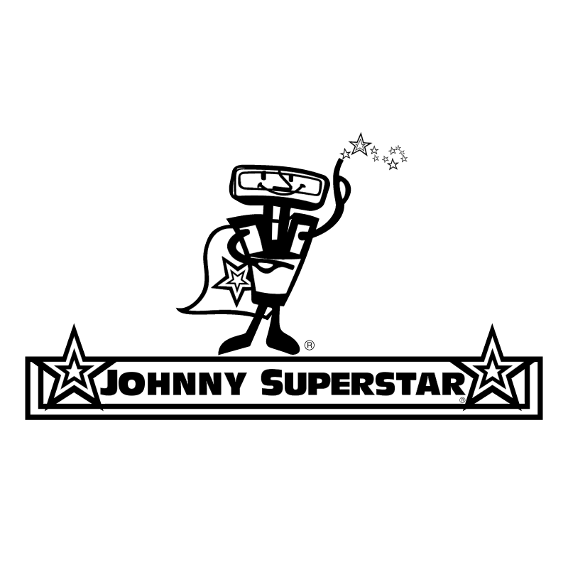 Johnny Superstar vector logo