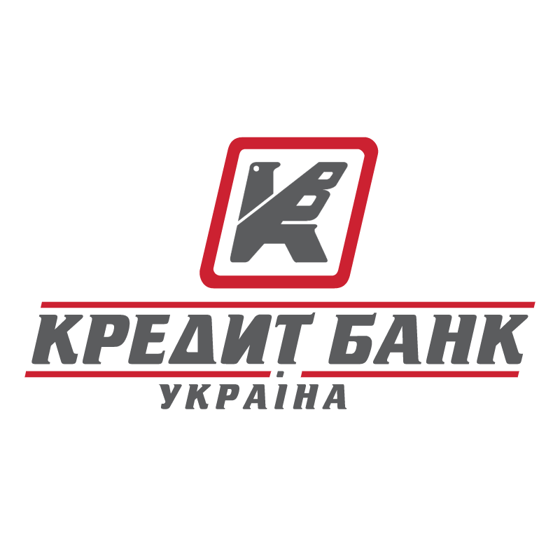 Kredyt Bank Ukraine vector logo