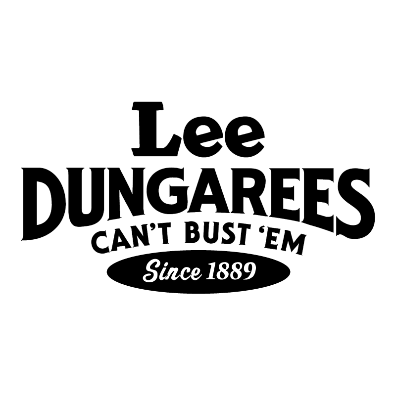 Lee Dungarees vector logo