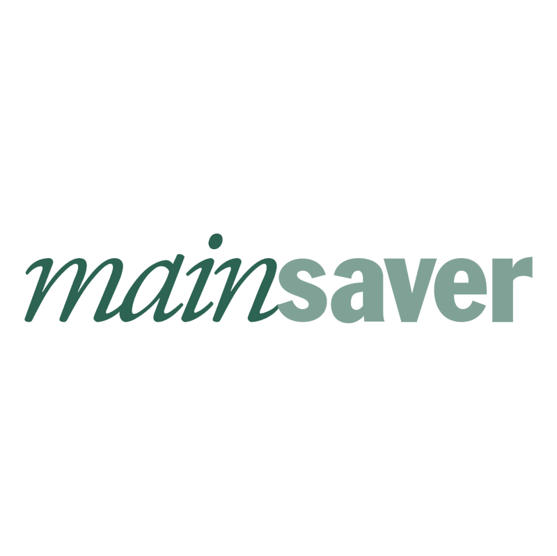 Mainsaver vector logo