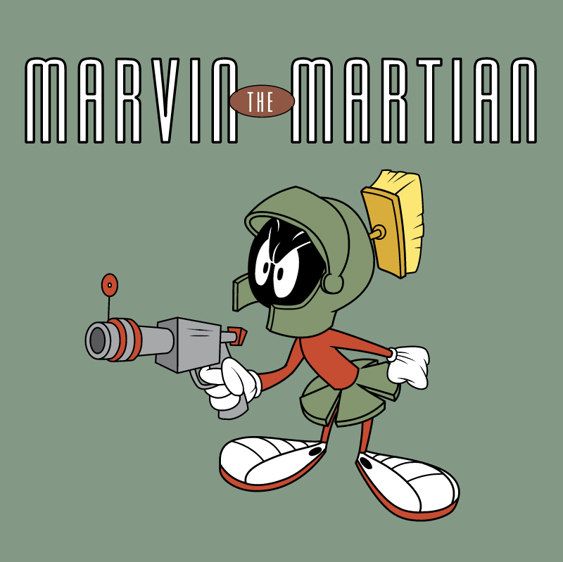 Marvin the Martian vector
