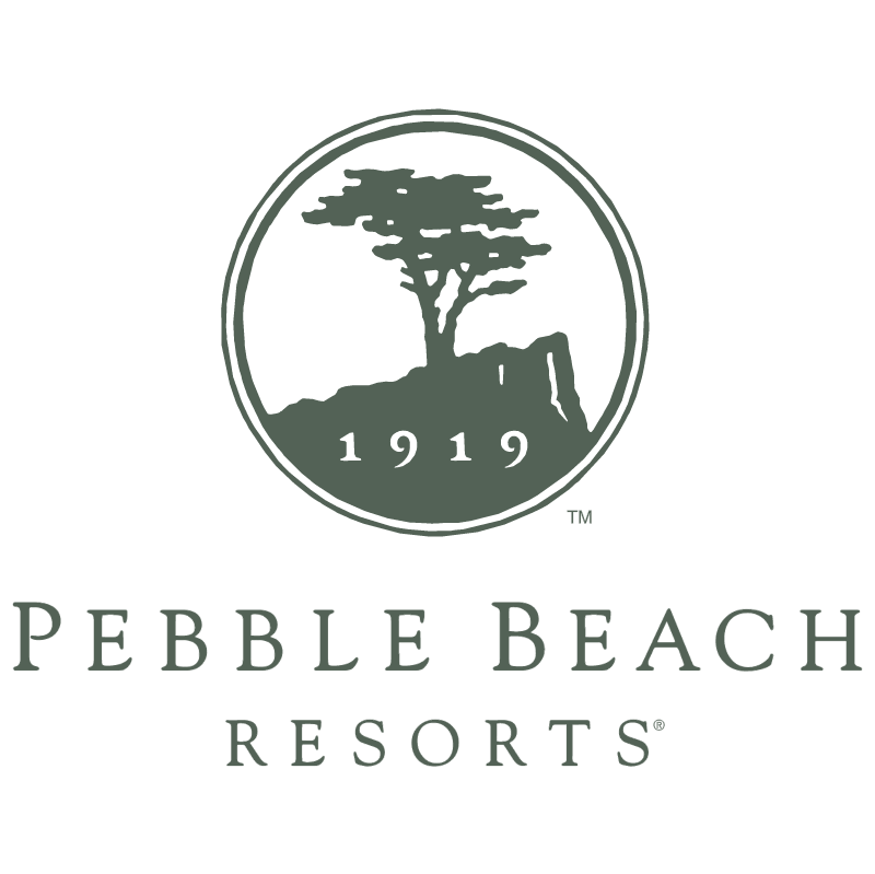 Pebble Beach Resorts vector logo