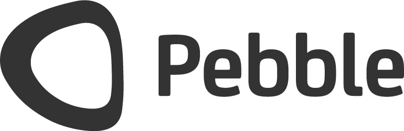 Pebble io vector logo
