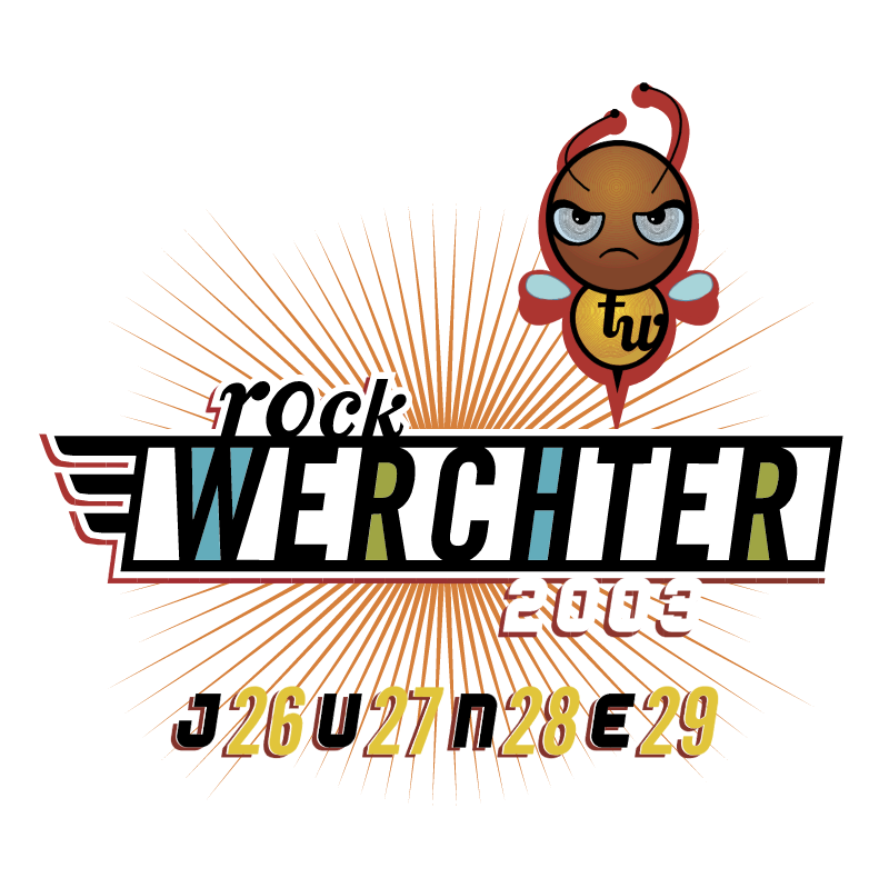 Rock Werchter 2003 vector