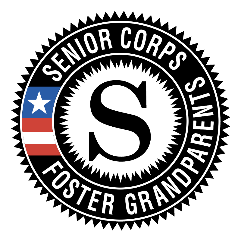 Senior Corps Foster Grandparents vector