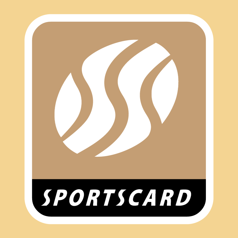 Sportscard vector