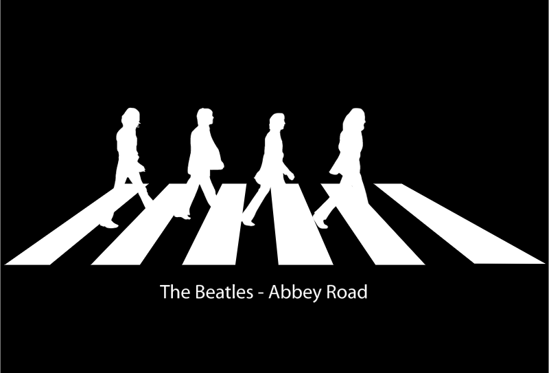 The Beatles AR vector