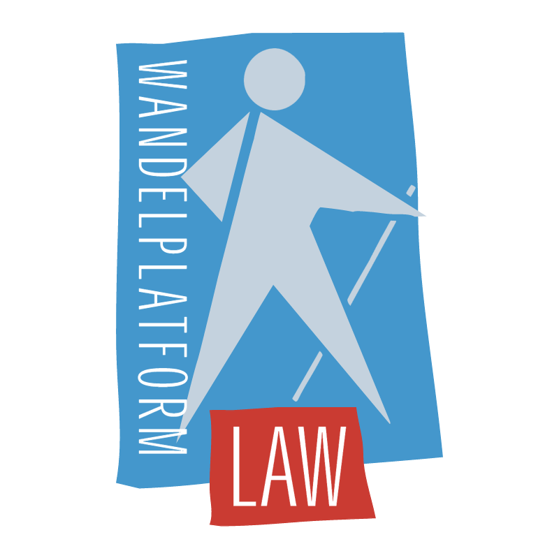 Wandelplatform LAW vector
