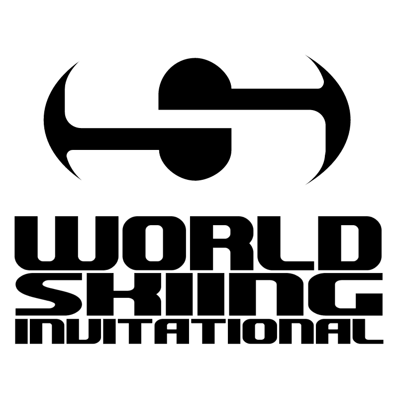 World Skiing Invitational vector