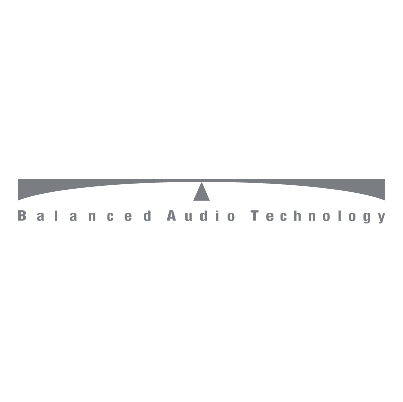 Balanced Audio Technology vector