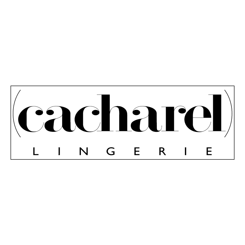 Cacharel Lingerie vector