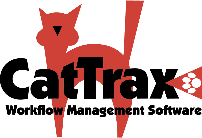 CAT TRAX vector logo