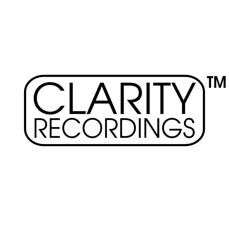 Clarity Recordings vector logo