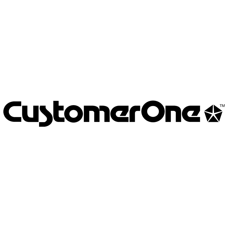 CustomerOne vector