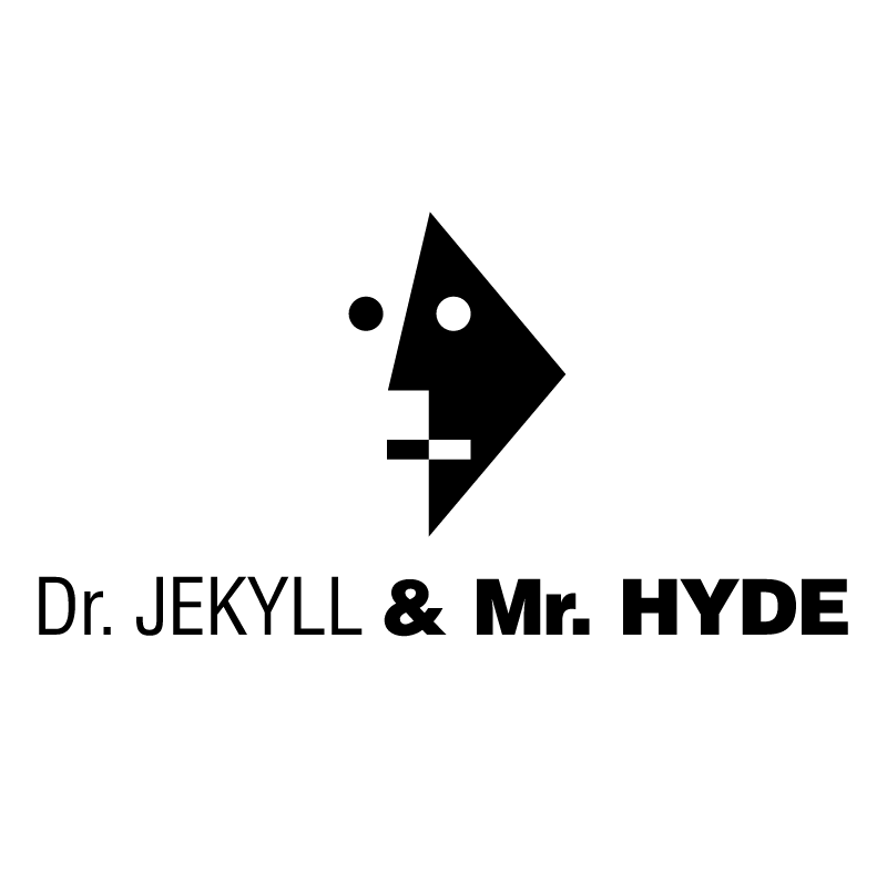 Dr JEKYLL & Mr HYDE vector logo
