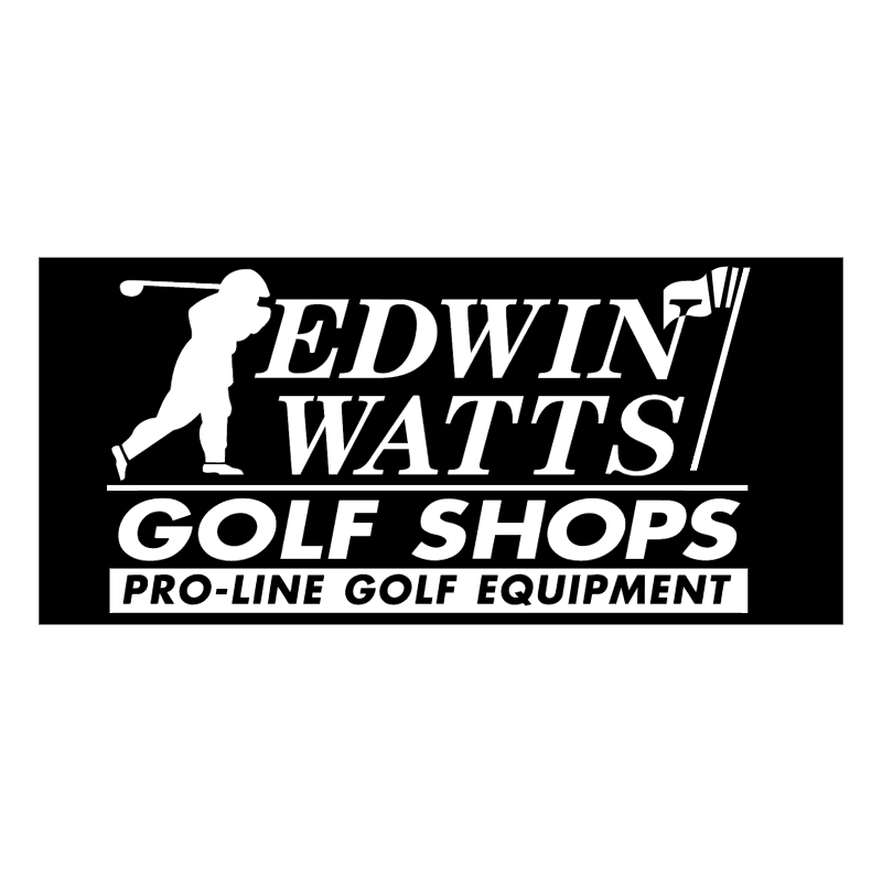 Edwin Watts Golf Shop vector logo