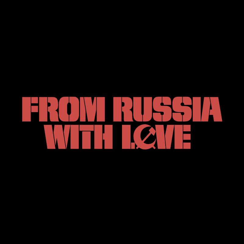 From Russia With Love vector
