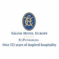 Grand Hotel Europe St Petersburg vector