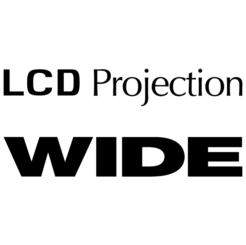 LCD Projection Wide