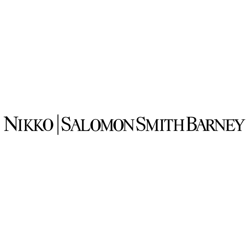 Nikko Salomon Smith Barney vector