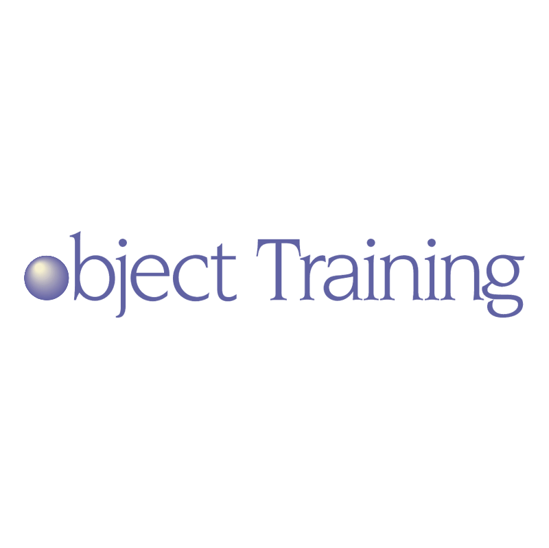 Object Training vector