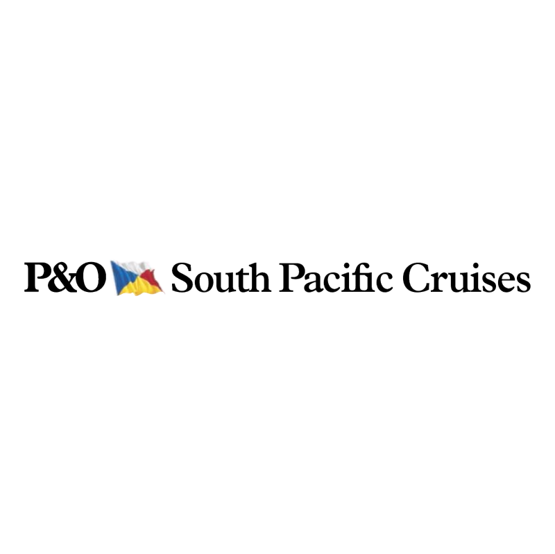 P&O South Pacific Cruises vector