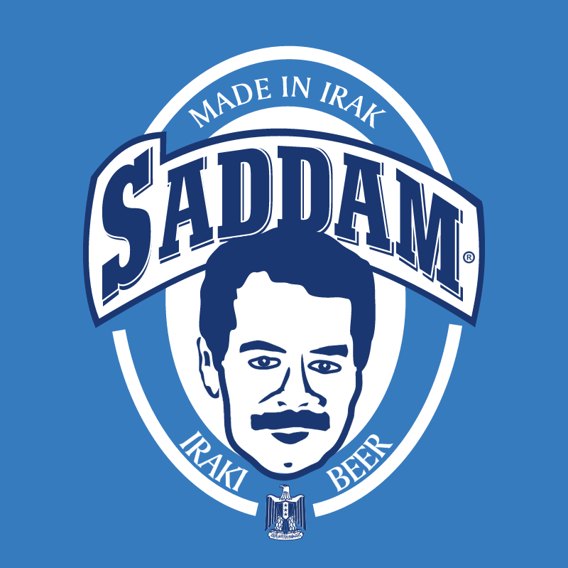 Saddam Beer vector