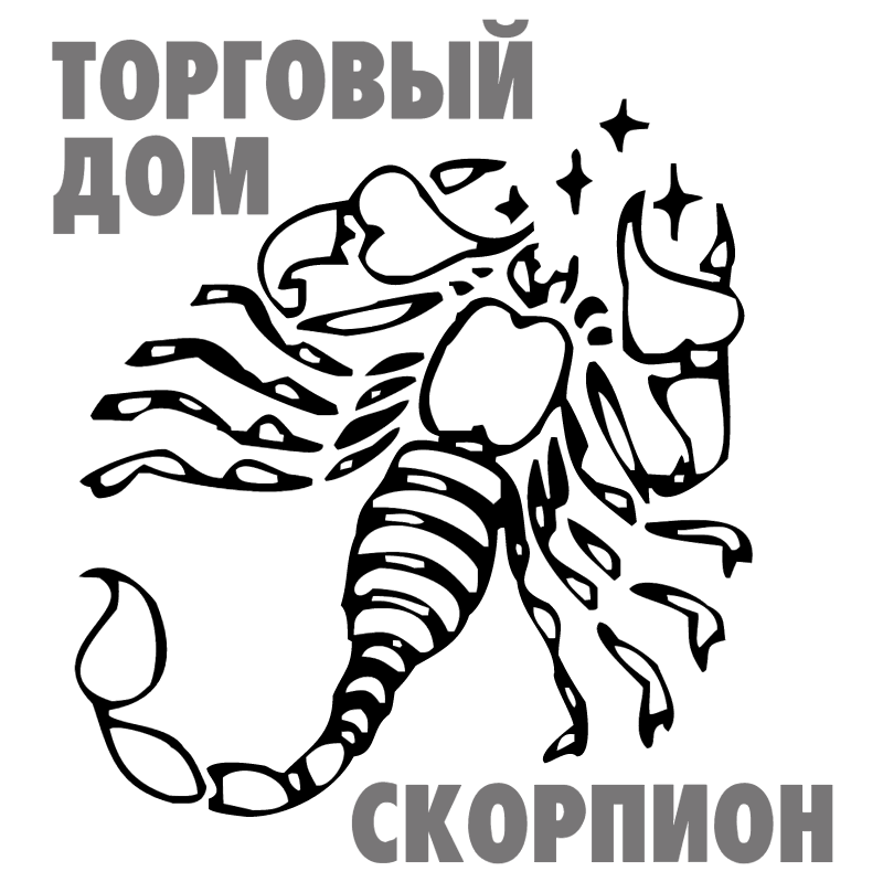 Scorpion vector logo
