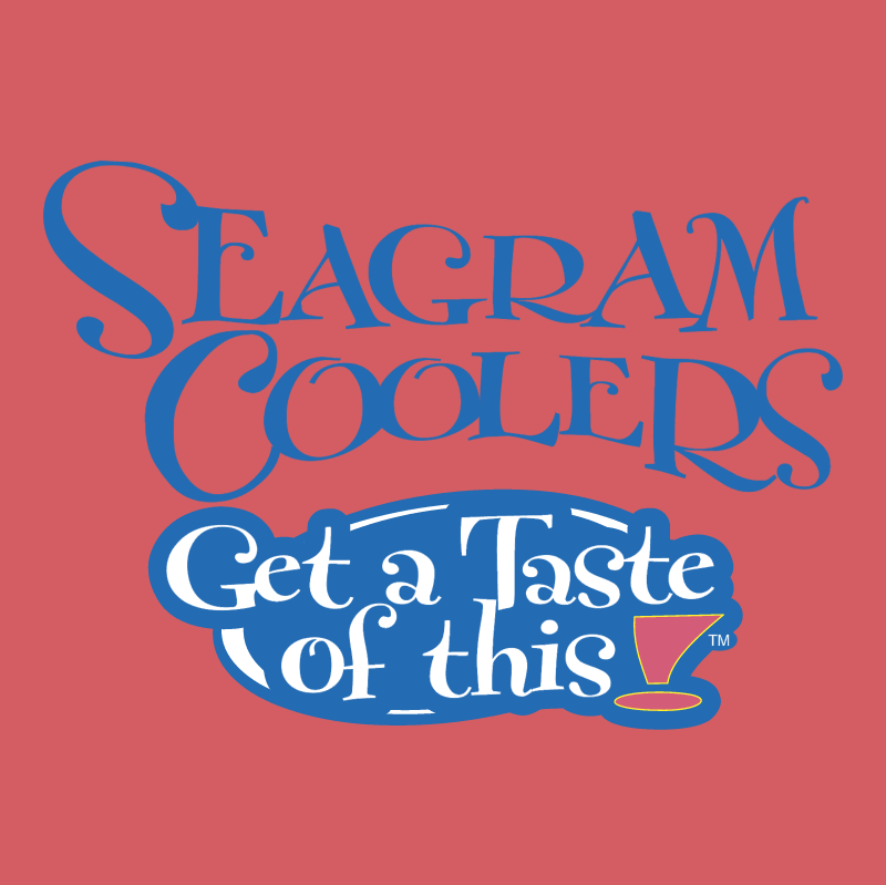 Seagram Coolers vector