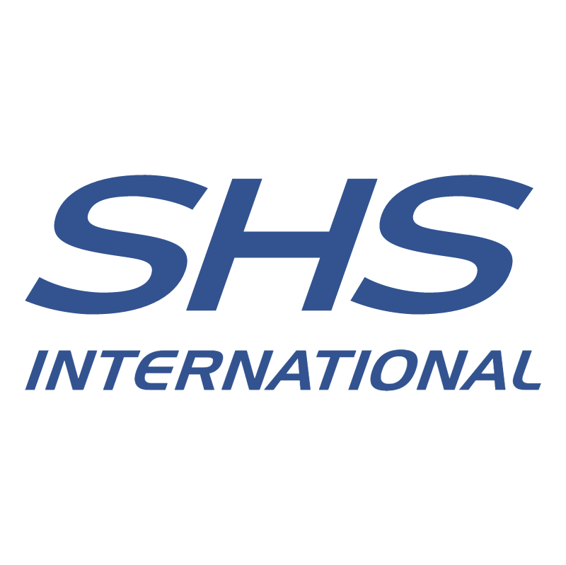SHS International vector logo