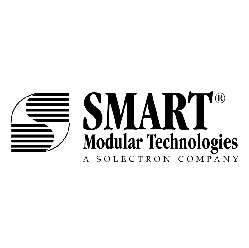 Smart Modular Technology vector logo