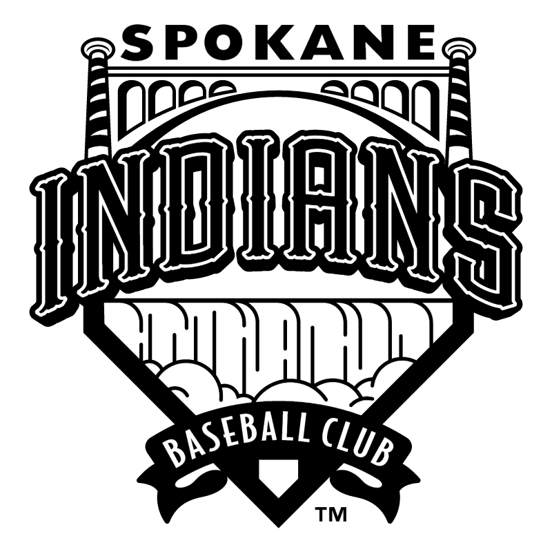 Spokane Indians vector