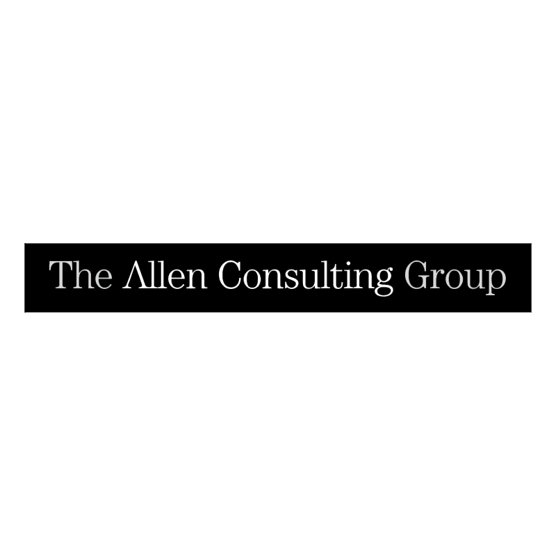 The Allen Consulting Group vector