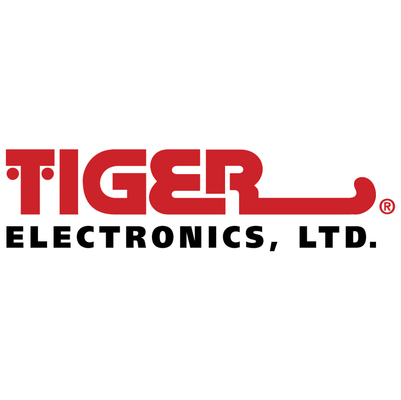 Tiger Electronics vector logo