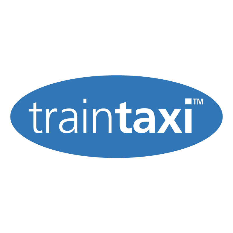 Traintaxi vector logo