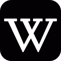 Wikipedia logo vector