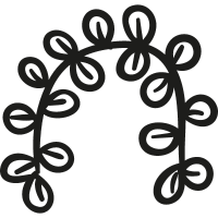 Bended Branch vector
