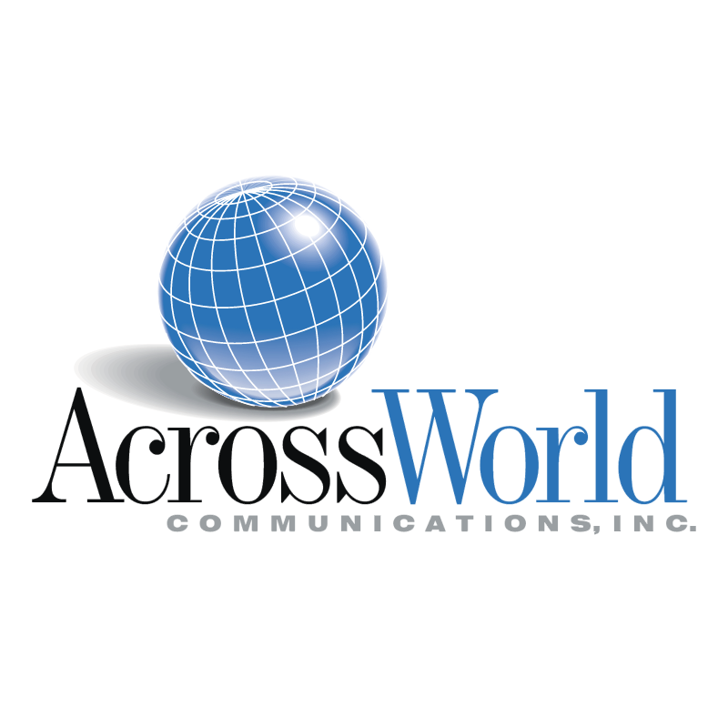 AcrossWorld Communications vector logo