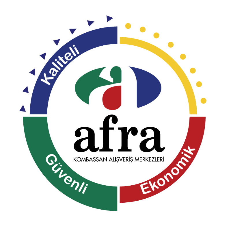 Afra Club Card vector