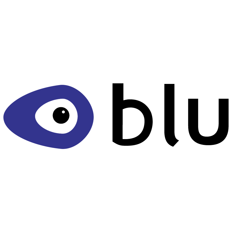 BLU comunication vector logo