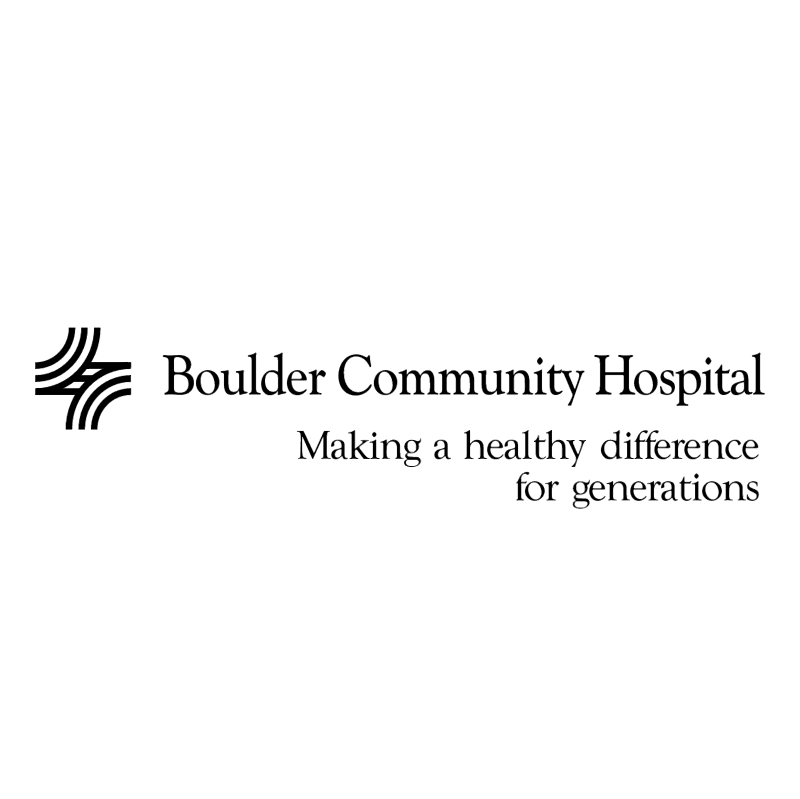 Boulder Community Hospital vector logo