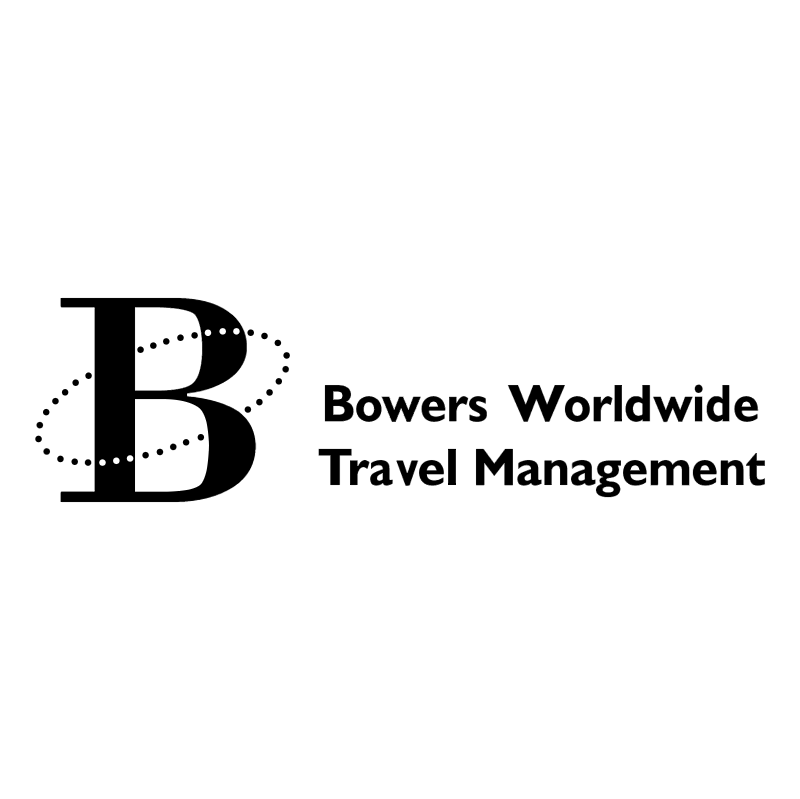 Bowers Worldwide Travel Management vector