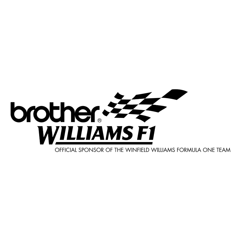 Brother Williams F1 83265 vector
