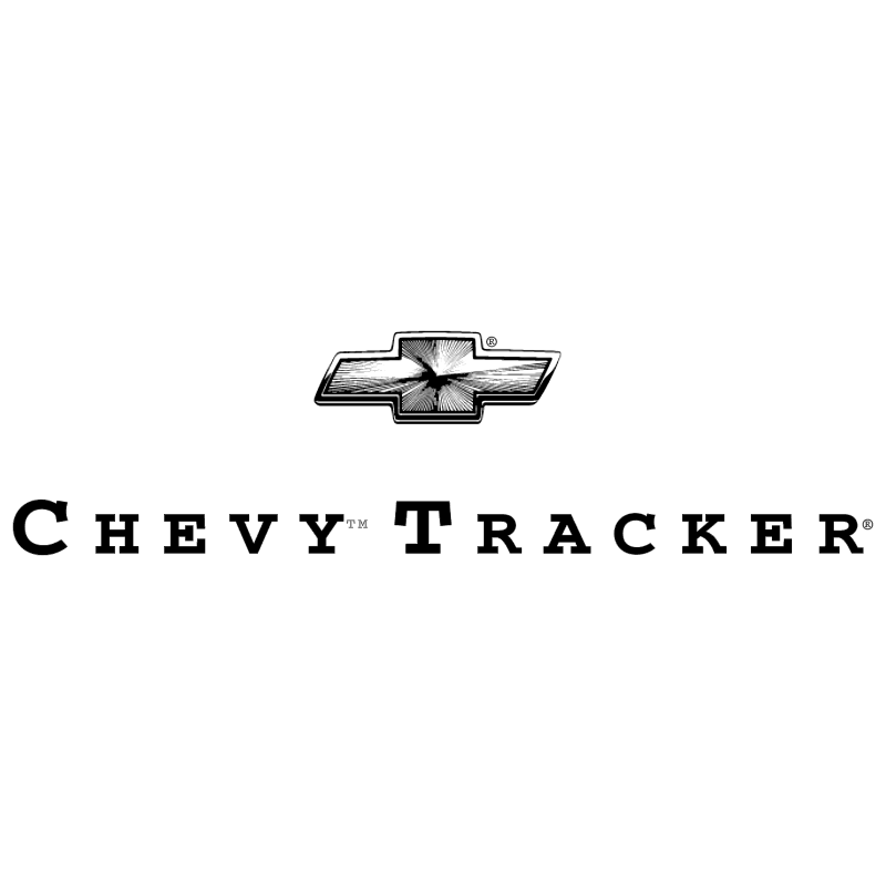 Chevy Tracker 8940 vector