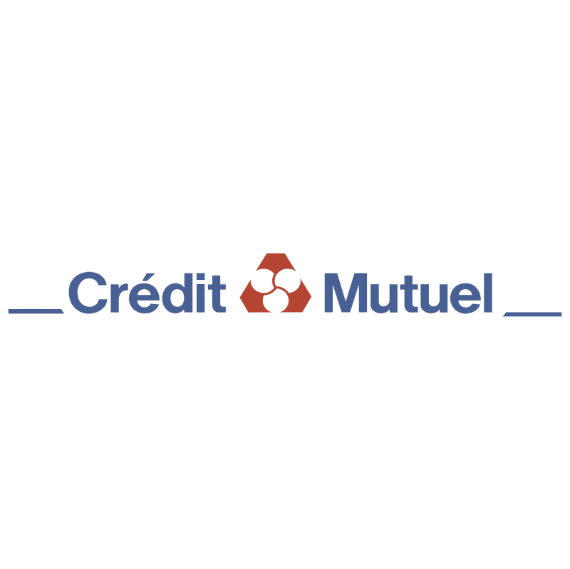 Credit Mutuel 1319 vector logo