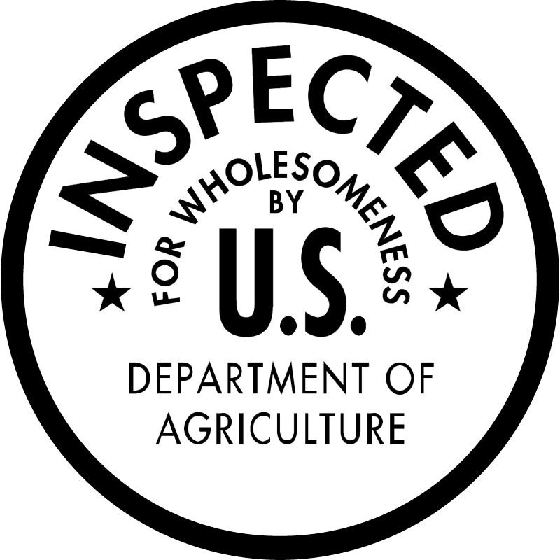 DEPT AGRI INSPECTED vector
