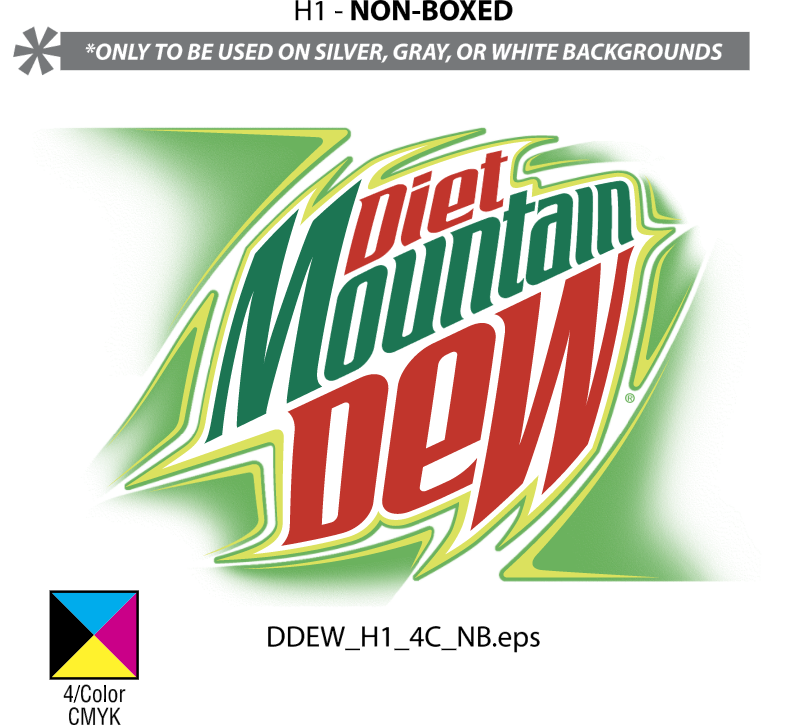 DIET MOUNTAIN DEW vector